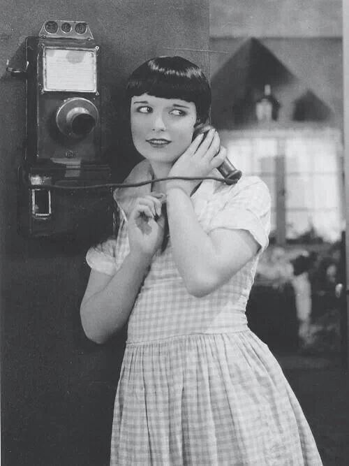 Louise Brooks Takes a Call