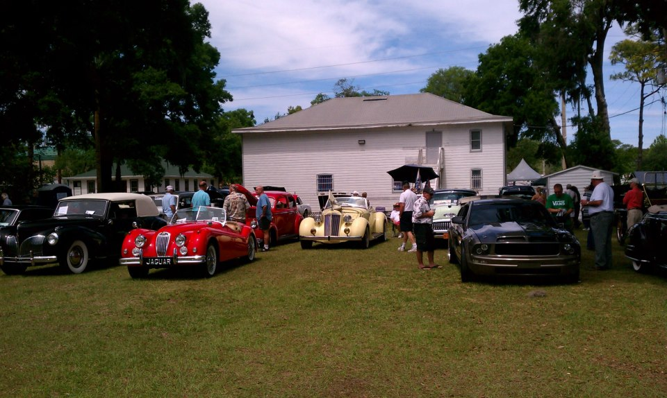 The Classic Car Show at the Matthews Bridge 60th Anniversary Celebration held at the Norman Studios property in April, 2014.