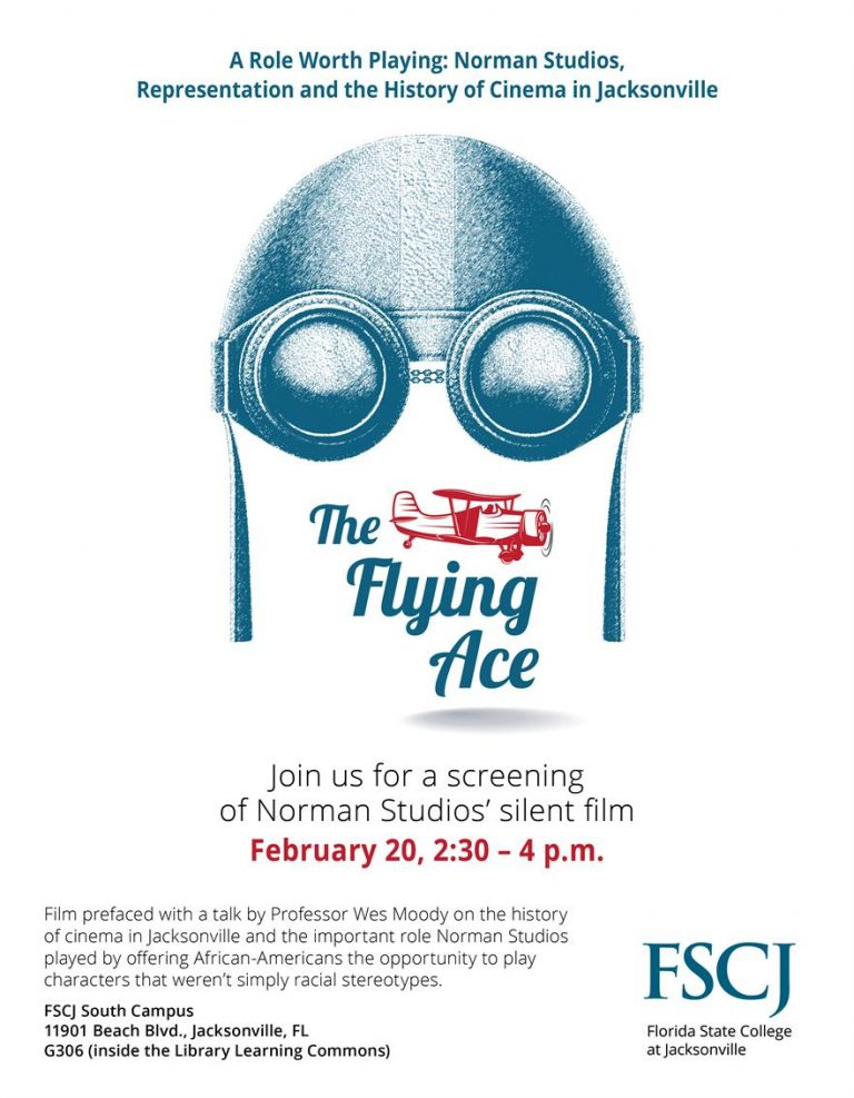 """The Flying Ace"""" at FSCJ South – Norman Studios"""
